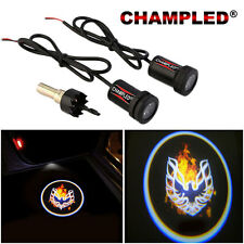 CHAMPLED for FIRE BIRD LED Door Projector Logo Shadow Car Tuning lights emblem