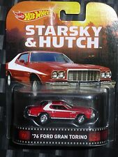 2015 HOTWHEELS - Retro entertainment K - STARSKY & HUTCH - '76 Ford Gran Torino