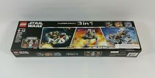 Lego Star Wars Super Pack 3 in 1 Micro Fighters 66542 Vehicles & Mini Figures