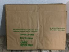 Yard Master 30 Gallon Paper Yard Waste Bags 10-Count Compost Refuse Leaf Bags