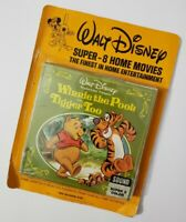 WALT DISNEY SUPER-8 HOME MOVIES WINNIE THE POOH & TIGGER TOO SEALED PACKAGE VTG