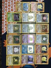Vintage Pokemon Card Lot Of 17 Holos All In Played Cond. See Pics For Conditions