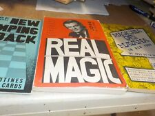 3 Jose De La Torre Books Real MagicNew Jumping Back magic Havana