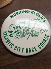 Vintage Atlantic City Race Course Pin Morning-Glories