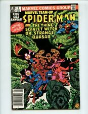 Marvel Team up Annual #5 (1982) Spiderman and Scarlet Witch Dr Strange NM- 9.2