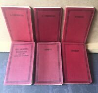 American Bible Society Pocket Edition Set of 6 Vintage Books of the Bible
