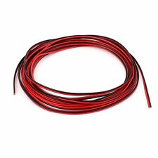 5M 22AWG Red Black Dual Core Electric Cable Wire for Car Auto Speaker LW