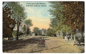 Auburn, Maine, Court and Lake Streets, Goff Hill