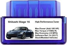 Stage 16 Power Performance Chip Tuner [Add 180 HP / 5 MPG ] OBD Tuning for Mazda