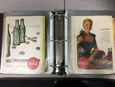 COMPLETE!!!  188 COCA COLA Coke National Geographic Ads Advertisements 1933-1965