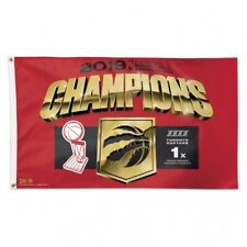 TORONTO RAPTORS 2019 CHAMPIONS DELUXE FLAG 3ft x 5ft SHIPS FROM CANADA