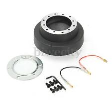 Steering Wheel Auto Hub Adapter Quick Release Snap Off Boss Kit for BMW E46 MOMO