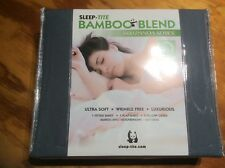 NEW Classic 60% Bamboo Bed Sheets - Queen Size - Grey