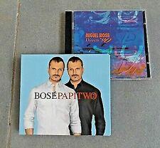 LOTTO 3 CD MIGUEL BOSE' DIRECTO 90 PAPITWO DIGIPACK NO SANREMO MARTIN AMICI *M