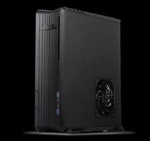 Silverstone SST-RVZ01B (black) DTX, Mini-ITX Steel Body Desktop Case