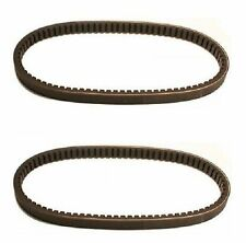 (2) New Torque Converter Cogged Drive Belts for Rotary 13052 30 Degree Symmetric