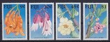 Fidschi Mi Nr. 590 - 593 **, Blumen Flowers Flora Fiji, postfrisch, MNH