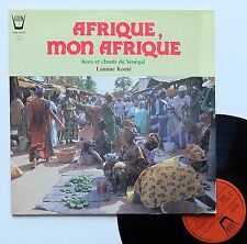 """Vinyle 33T Lamine Konté  """"Afrique mon Afrique"""""""