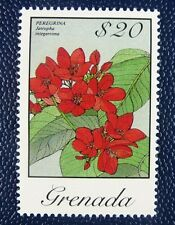 Grenada 1986 Blüten Blossoms Blume Flower Freimarke $20 1490 MNH