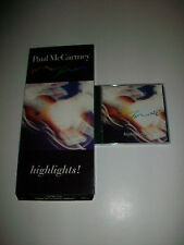 PAUL McCARTNEY - BEATLES - RARE LONG BOX CD - HIGHLIGHTS
