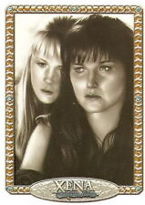 Xena NA7 Xena and Gabrielle artifex insert trading card art  Rebekah Lynn
