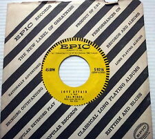 SAL MINEO 45 Love Affair EPIC label w/ LABEL SLEEVE
