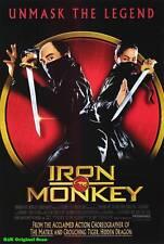 MOVIE POSTER~Iron Monkey 1993 27x40 Original Film Sheet  Rongguang Yu Wong Yen~1