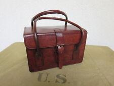 Accessoires vintage marron en cuir Années 1940