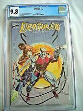Marvel DEATHLOK #1 CGC 9.8 NM/MT White Pages 1990