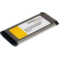StarTech ECUSB3S11 1 Port Flush Mount ExpressCard SuperSpeed USB 3.