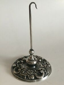 Signed Tiffany & Co. Silver Soldered Hotel Receipt Spike