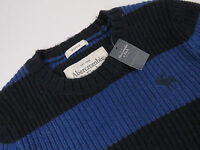R3295 ABERCROMBIE&FITCH JUMPER SWEATER ORIGINAL RABBIT HAIR MUSCLE A&F size S