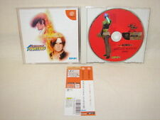 Dreamcast THE KING OF FIGHTERS DREAM MATCH 1999 SNK with SPINE CARD * Sega DC dc