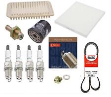Toyota Corolla/Matrix Tune-Up Kit Spark Plugs+Air+Oil+Cabin + PCV + Belt Kit