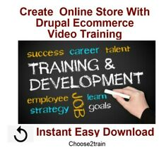 Create Your First Online Store With Drupal Ecommerce Video Training Tutorial