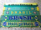a1 lotto 5 sciarpe BRASILE football federation calcio scarf brasil lot