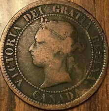1876 H CANADA LARGE CENT PENNY LARGE 1 CENT COIN