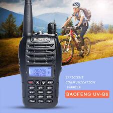 Baofeng Dual Band VHF UHF 5W Walkie Talkie UV-B6 two way B6 Radio Ship