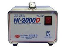 HANIL Step Down Voltage Transformer  220V To 110V Home 2000W Converter Korea