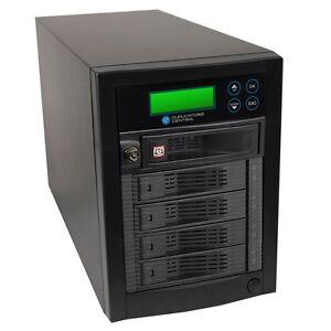 1 to 4 Targets Multiple SATA Hard Drive HDD & SSD Memory Card Copier Duplicator