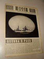 OGGI=1940/42=2° GUERRA MONDIALE=NAVI ITALIANE=GIULIANA PENZI DANZA=ASTALDI M.L.=