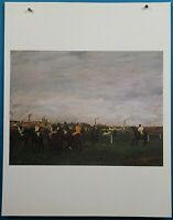 "Edgar Degas ""The Races"" Print in 50 French Impressionist Masterpieces"