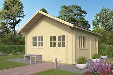 44mm Gartenhaus ISO 490x530cm Holz Holzhaus Blockhaus Schuppen Hütte Schlafboden