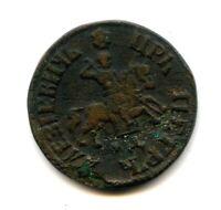 Russian Empire COPPER COIN 1 Kopek Kopeck 1773 Tsar Peter 1-st the Great