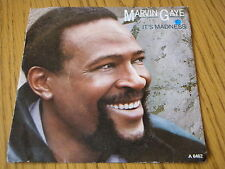"""MARVIN GAYE - IT'S MADNESS   7"""" VINYL PS"""