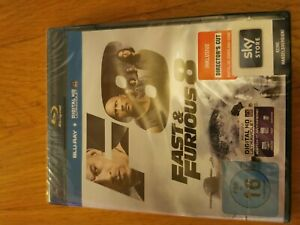 The Fast and the Furious 8 Blu-Ray - NEU&OVP