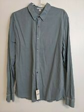 JAMES PERSE Blue Dress Shirt Barney's New York  Mens size 2 $145