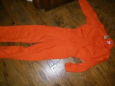 Topps Orange Coveralls Work Apparel NWT Size 60 T NWT