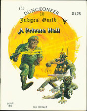 Judges Guild the Dungeoneer A Private Hell  D&D AD&D Dungeons  MBX109