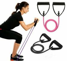 Yoga Pull Rope Elastic Resistance Bands Fitness Workout Exercise Tubes Practical